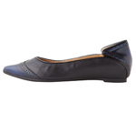 POINTED TOE BLUE & BLACK