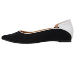 POINTED TOE BLACK & WHITE