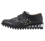 SHOES WITH STUDS / BLACK