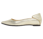 POINTED TOE / GOLD