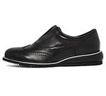 SLIP-ON SHOES / BLACK
