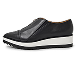 POINTED SLIP-ON / BLACK