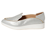POINTED SLIP-ON / SILVER