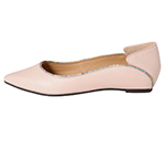 POINTED TOE FLATSHOES / PINK