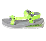 SPORTS SANDAL / GREY & LIME