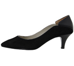 PIN HEEL/BLACK MIX