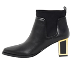 ANKLE BOOTS / BLACK