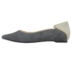 POINTED TOE / GREY & WHITE