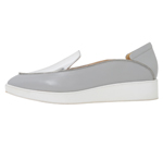 POINTED SLIP-ON / SILVER & LIGHT GREY