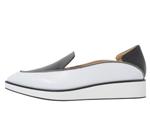 POINTED SLIP-ON / BLACK & WHITE