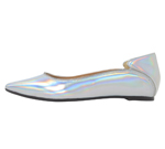 POINTED TOE / SILVER