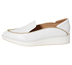 POINTED SLIP-ON / WHITE